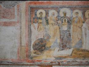 immagine di Madonna col Bambino e Sante