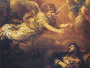 immagine di Sant'Alessio moribondo