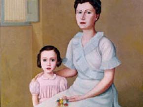 immagine di Ritratto di Madre e Figlia