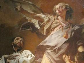 immagine di L'Arcangelo Raffaele e i Santi Antonio da Padova e Gaetano da Thiene