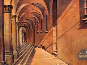 Sotto il segno dei portici. I bassorilievi dipinti di Ivan Dimitrov