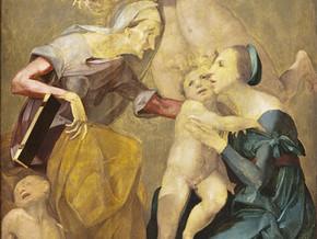 immagine di Allegoria della salvezza con la Vergine e il Bambi