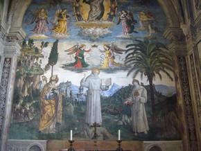 immagine di Storie San Bernardino da Siena (Cappella Bufalini)