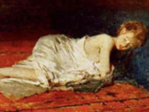 immagine di Giovane donna dormiente
