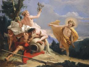 immagine di Apollo rincorre Dafne