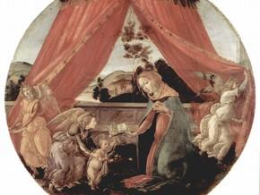 immagine di Madonna del padiglione (Madonna con il Bambino e tre angeli)