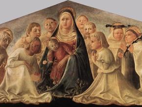 immagine di Madonna con il Bambino, Santi e Angeli
