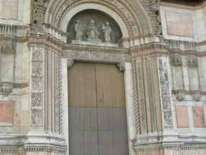 """immagine di Portale mediano / """"Porta Magna"""""""