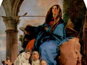 immagine di La Vergine con le Sante Rosa da Lima, Caterina da Siena e Agnese da Montepulciano