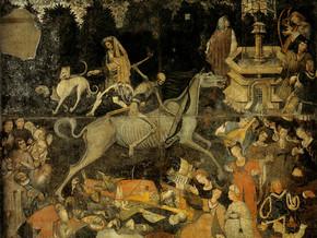 immagine di Trionfo della Morte e trionfo della Fama