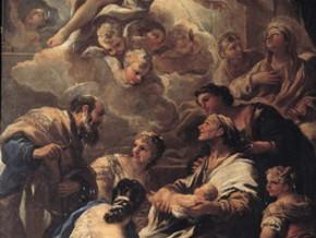 immagine di Natività di Maria, Presentazione al Tempio, Adorazione dei Pastori e il Sogno di Giuseppe