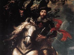 immagine di Giovanni Carlo Doria a cavallo
