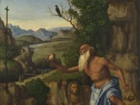 immagine di San Girolamo nel deserto