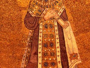 immagine di Sant'Agnese e i Papi Onorio e Simmaco
