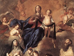 immagine di Nostra Signora del Carmelo e Santi