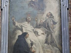 immagine di Visione dei Santi Ludovico Bertrando, Vincenzo Ferrer e Giacinto