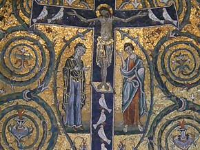 immagine di Mosaico Trionfo della Croce