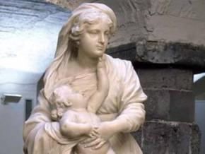 immagine di Madonna col bambino (Madonna Carrega)