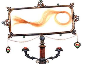 immagine di Ciocca di capelli di Lucrezia Borgia