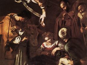 immagine di Natività con i santi Lorenzo e Francesco d'Assisi