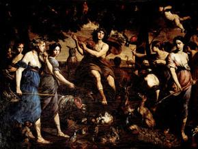 immagine di Orfeo e le baccanti