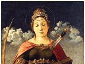 immagine di Santa Giustina de' Borromei