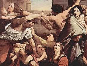 immagine di San Carlo Borromeo con angeli