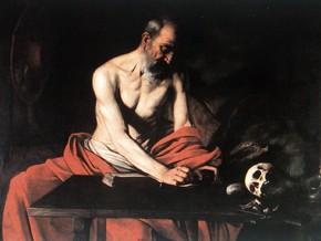 immagine di San Girolamo scrivente