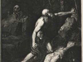 immagine di San Girolamo penitente nel deserto