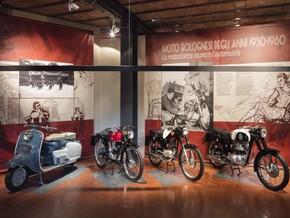 Moto bolognesi degli anni 1950-1960. La motocicletta incontra l'automobile