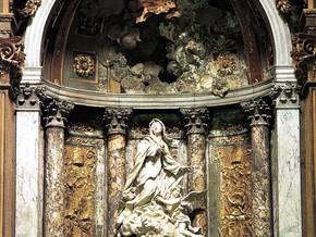 immagine di Santa Marta in gloria