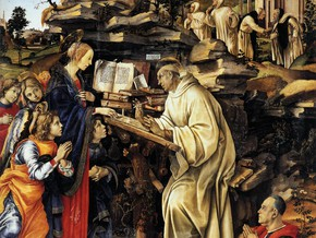 immagine di Apparizione della Madonna a San Bernardo di Chiaravalle