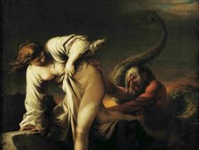 immagine di Sant'Antonio tentato dai demoni