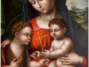 immagine di Madonna con il Bambino e San Giovannino