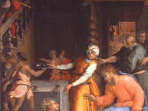 immagine di Gesù Cristo in casa di Marta