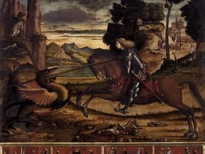 immagine di San Giorgio uccide il Drago
