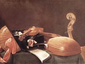 immagine di Natura morta con strumenti musicali