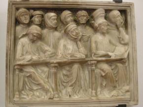 immagine di Particolare della tomba di Giovanni da Legnano