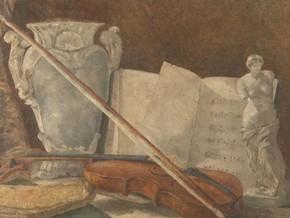 Celato sotto un paesaggio, il dipinto è venuto alla luce durante un restauro