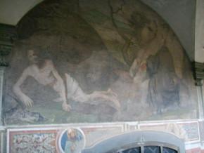 immagine di San Benedetto nei rovi