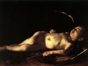 immagine di Amorino dormiente