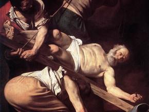 immagine di Crocifissione San Pietro e Conversione di San Paolo (Cappella Cerasi)