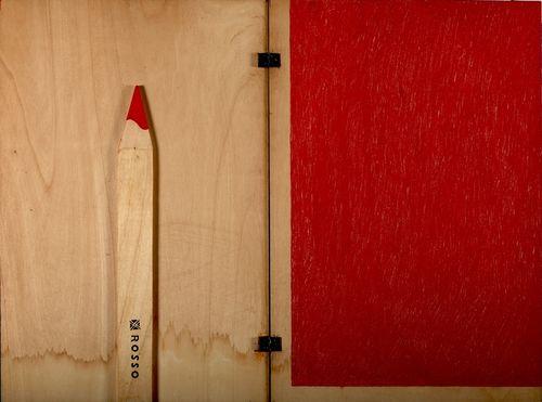 Gianni Ruffi, <em>Giallo verde rosso</em>, 1968. Collezione Fondazione Caript