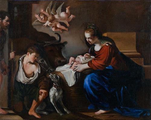 Guercino, Il Presepe della Galleria Corsini