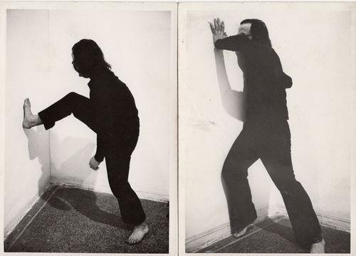 Emilio Prini, Studi per Pesi Spinte Azioni, 1968. Collezione privata