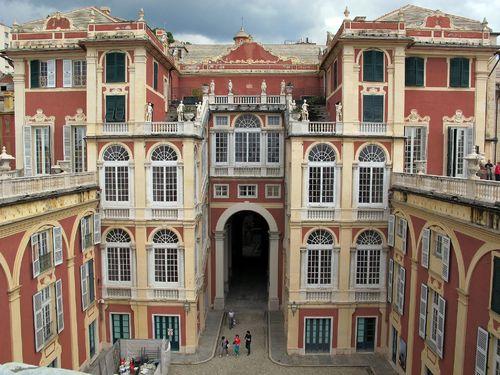 Palazzo Reale, Genova, controfacciata