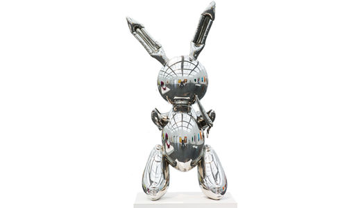 Jeff Koons, Rabbit, 1986, Collection Museum of Contemporary Art Chicago| Foto: Nathan Keay, © MCA Chicago, © Jeff Koons