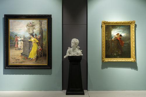 Pinacoteca degli artisti vigezzini con scultura di Paolo Troubetzkoy I Ph. Alberto Lorenzina