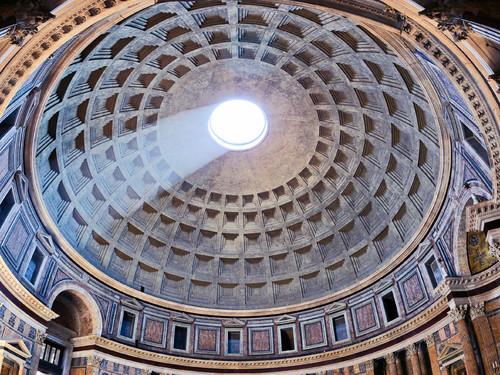 Pantheon, Interno, Roma
