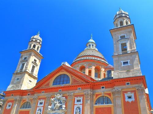 Basilica di Santa Maria Assunta in Carignano, Genova   Foto: Inu